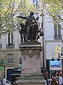 Statue of Danton, Boulevard Saint-Germain, Paris 2010.jpg