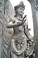 Statue of Goddess or Queen at Monas.JPG