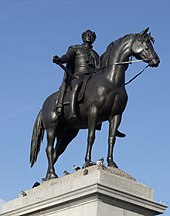 Statue of King George IV in Trafalgar Square, London (cropped).jpg