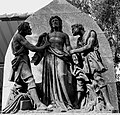 Statue of jesus at st.Thomas mount church, chennai.JPG