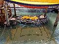 Statue of lord Krishna at Budhanilkantha temple.jpg