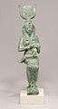 Statuette, Isis, Horus MET 04.2.443 front.jpg