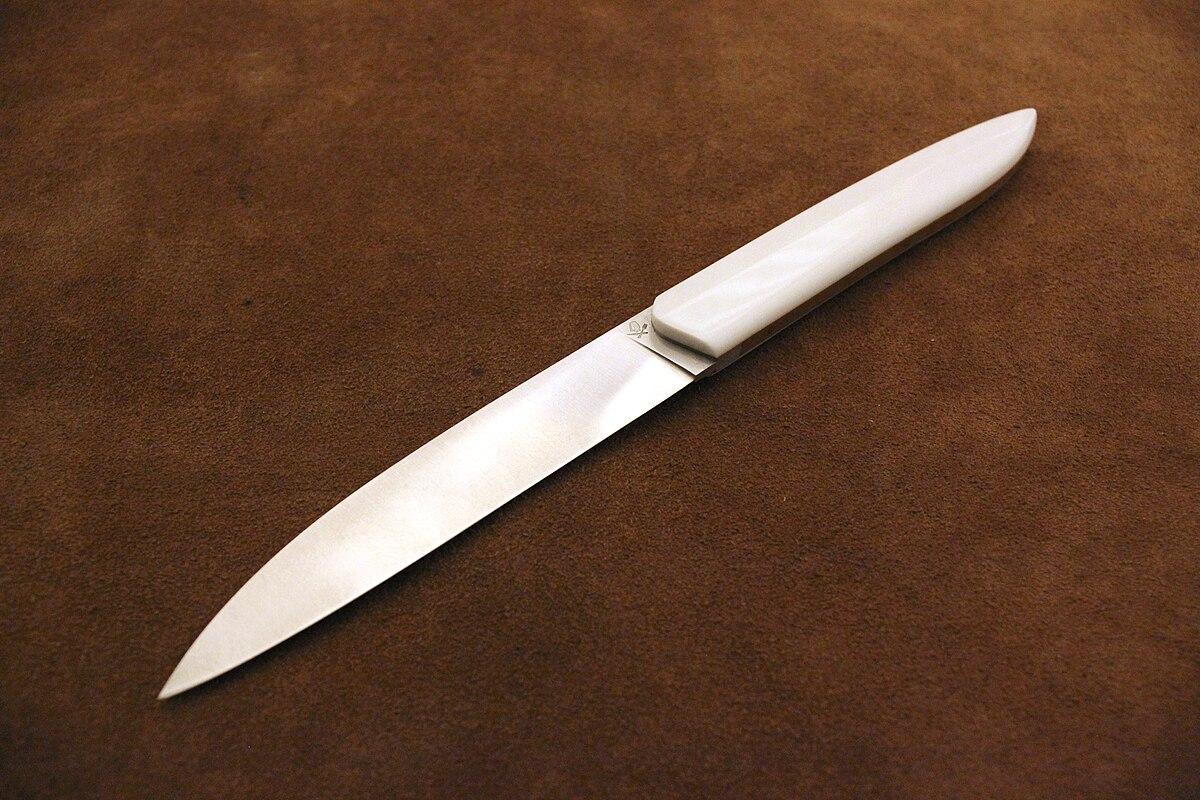 Cuchillo de carne wikipedia la enciclopedia libre for Cuchillos carne mesa