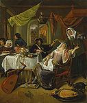 Steen, Jan Havickszoon - The Dissolute Household 17th century.jpg