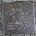 Stolperstein für Luise Schwarzschild