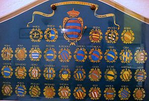 Coat of arms of the Republic of Ragusa - Image: Stema.dubrovcani.vla stela
