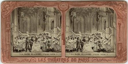 Stereokort, La Dame blanche 6, acte III, scène V - SMV - S166a.tif