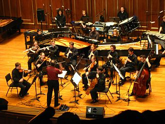 City Life (music) - Performance of City Life, at New England Conservatory, 2007