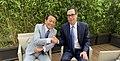 Steven Mnuchin and Taro Aso at 2019 G7 Finance.jpg