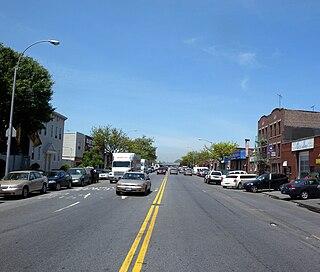 Stillwell Avenue Avenue in Brooklyn, New York