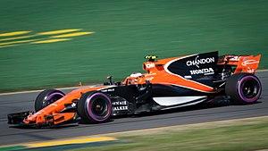 McLaren MCL32 - Image: Stoffel Vandoorne (36266228225)