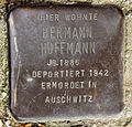 Stolperstein Dieffenbachstr 49 (Kreuzb) Hermann Hoffmann.jpg