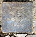 Stolperstein Helmstedter Str 5 Max Hesse.jpg