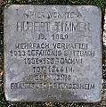 Stolperstein Hubert Timmer (Weidigstraße 5 Butzbach).jpg