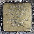 Stolperstein Poststr 12 (Mitte) Meta Lesser.jpg