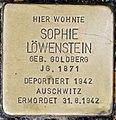 Stolperstein Remscheid Alleestraße 6 Sophie Löwenstein.jpg