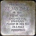 Stolperstein Salzburg, Stefan Zweig (Kapuzinerberg 5).jpg