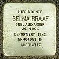 Stolperstein Verden - Selma Braaf (1894).jpg