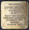 Stolpersteine Krefeld, Sophie Müller (Hohenzollernstraße 79).jpg