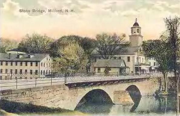 Stone Bridge, Milford, NH