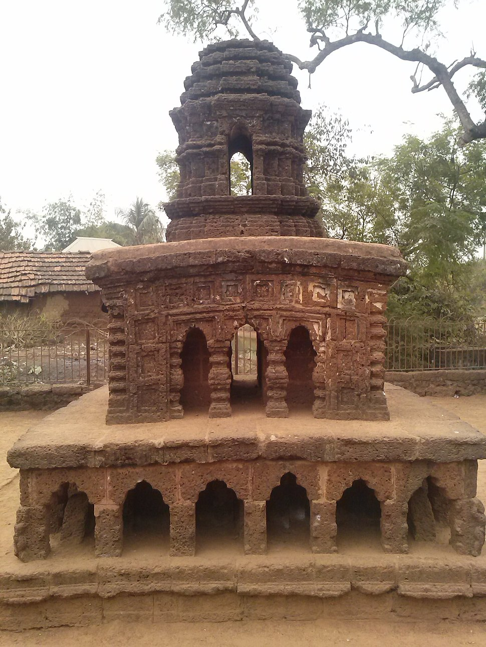 Stone chariot of Bishnupur