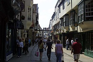 Stonegate in York - geograph.org.uk - 1261035