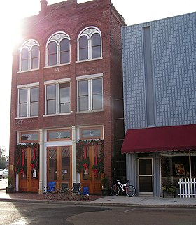 Storefront in Greenwood, Mississippi