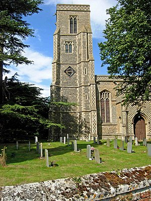Stowlangtoft - Image: Stowlangtoft Church of St George