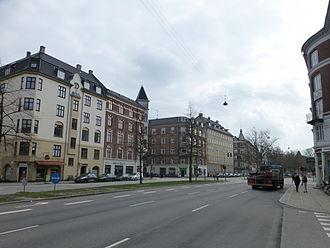 Strandboulevarden - Strandboulevarden at Nordre Frihavnsgade.