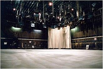 RTÉ Television Centre - Image: Studio 1 (RTE T.C.)