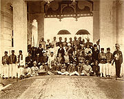 The British recognised the Malay Rulers as sovereign over Malaya.