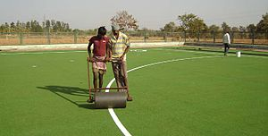 Sundergarh - Hockey turf in Sundergarh