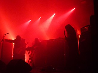 Sunn O))) - Sunn O))) on stage at the Ritz in Manchester, 11 June 2012