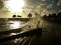 Sunset with a splash (2198018721).jpg
