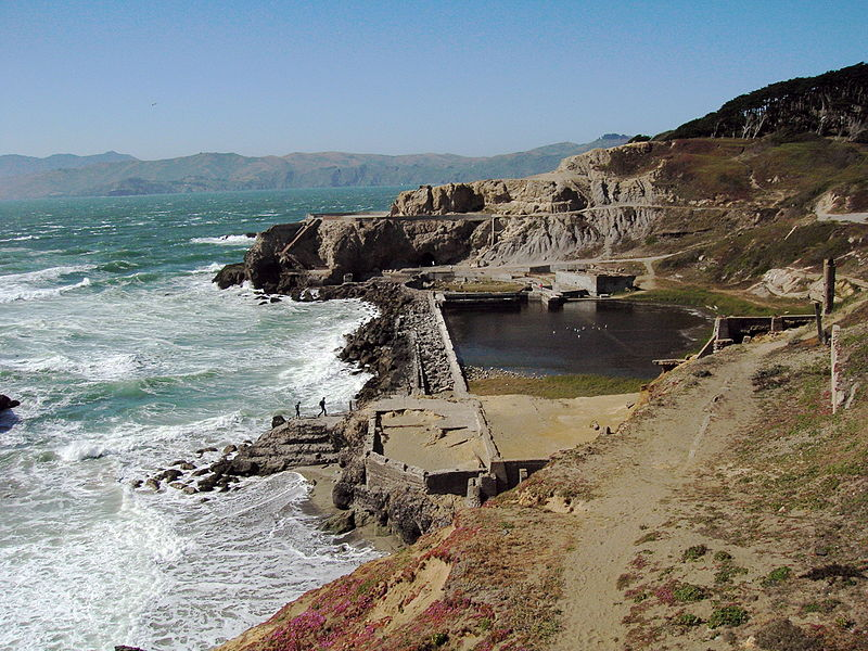 Swimming with ghosts at the spectacular sutro baths Public swimming pools san francisco