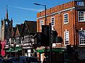 Sutton, Surrey, Greater London - Trinity Church in distance.jpg