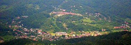 Szczyrk Panorama ze Skrzycznego