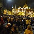 Tüntetés - Kossuth tér, 2014.11.17 (2).JPG