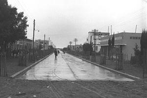 THE MAIN STREET (HERZL STREET) IN NETANYA. רחוב הרצל בנתניה.D25-063