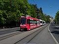"TPG Tram Düwag-Vevey Be 4-6 802 ""m3 Real Estate"" (26223299604).jpg"