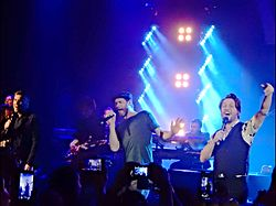 Take That, Shepherds Bush Empire, London (16010423574).jpg