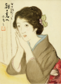 TakehisaYumeji-1921-Ten Themes of Woman To the Light of Morning.png