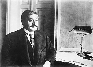Talaat Pasha Grand Vizier of the Ottoman Empire and Minister of the Interior