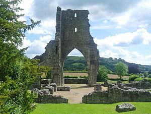 Talley Abbey - Talley Abbey ruins.