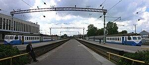 Rail transport in Estonia - Balti jaam (literally the Baltic Station) is the main passenger railway station of Estonia's capital Tallinn.