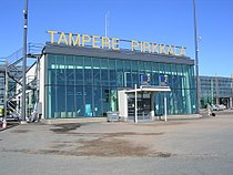 Tampere Pirkkala Airport Finland.jpg