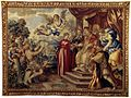 Tapestry by unknown weaver - The Union of the Duchy of Urbino with the Church - WGA24186.jpg