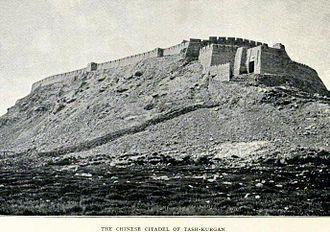 Tashkurgan Town - The fortress in 1909.