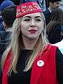 Tatar Woman at May 18 Commemoration of Crimean Tatar Deportations-Genocide - Maidan Square - Kiev - Ukraine - 04 (26496548893).jpg