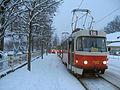 Tatra T3SUCS, Pražský hrad, sněhová kalamita.jpg
